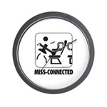 *NEW DESIGN* MISS-Connected Wall Clock