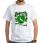 Begue Family Crest White T-Shirt