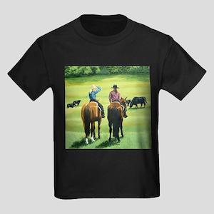 Girl Talk Kids Dark T-Shirt