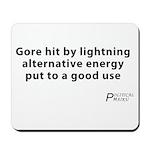Political Haiku - Alternative Energy Mousepad