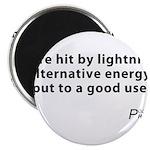 "Political Haiku - Alternative Energy 2.25"" Magnet"