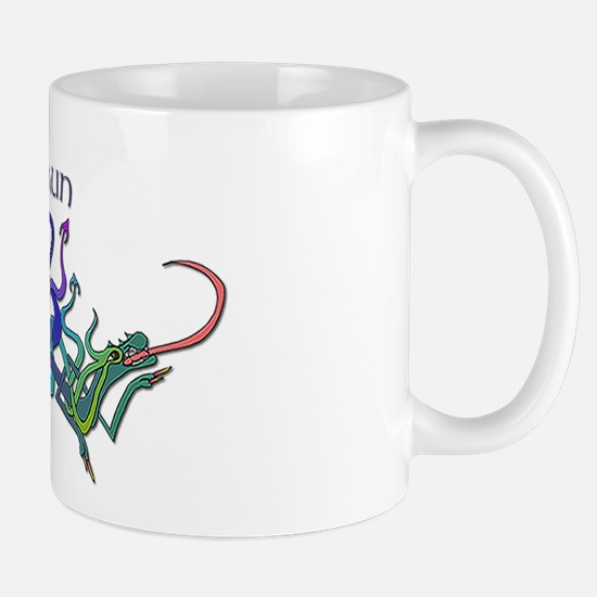 Shaun's Celtic Dragons Name Mug