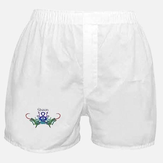 Shaun's Celtic Dragons Name Boxer Shorts