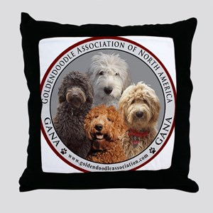 GANA logo Throw Pillow