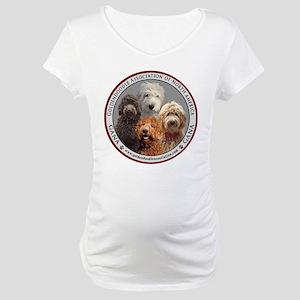 GANA logo Maternity T-Shirt