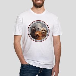 GANA logo Fitted T-Shirt