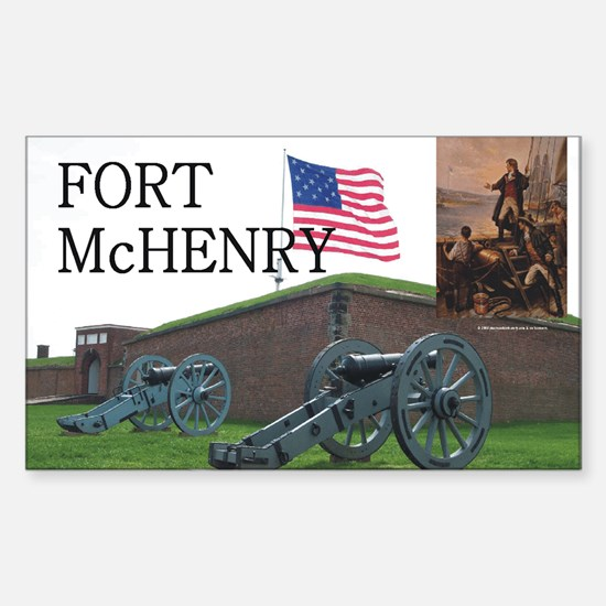 ABH Fort McHenry Sticker (Rectangle)