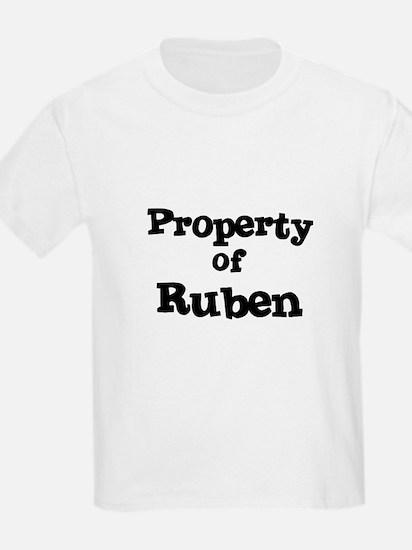 Property of Ruben Kids T-Shirt