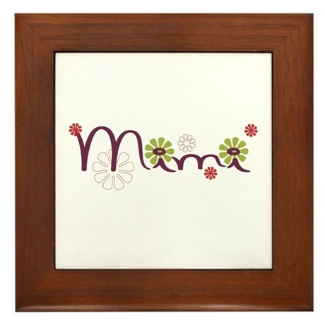 Mimi Framed Tile