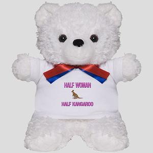 Half Woman Half Kangaroo Teddy Bear