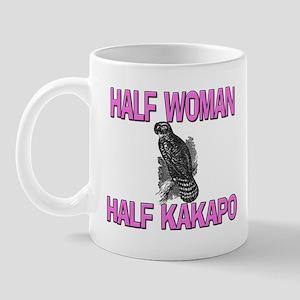 Half Woman Half Kakapo Mug