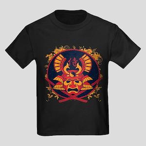 Samurai Stamp Kids Dark T-Shirt