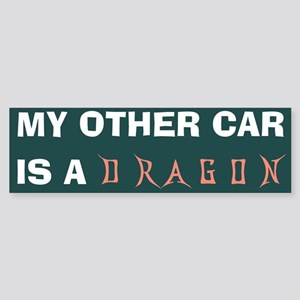 my other car is a dragon Bumper Sticker