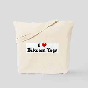 I Love Bikram Yoga Tote Bag