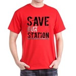 Save Our Station Red T