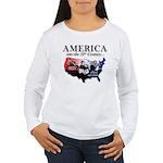 21st Century America Women's Long Sleeve T-Shirt