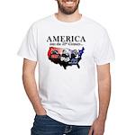 21st Century America White T-Shirt