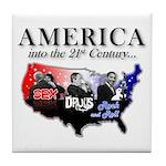 21st Century America Tile Coaster