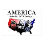 21st Century America Postcards (Package of 8)
