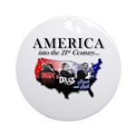 21st Century America Ornament (Round)