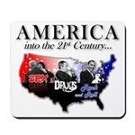 21st Century America Mousepad