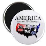 21st Century America Magnet