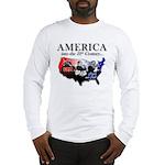 21st Century America Long Sleeve T-Shirt