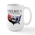 21st Century America Large Mug