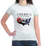 21st Century America Jr. Ringer T-Shirt