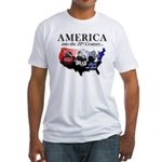 21st Century America Fitted T-Shirt