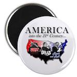 "21st Century America 2.25"" Magnet (100 pack)"