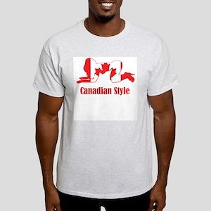 Canadian Style 3 Light T-Shirt