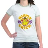 Hippie chick Jr. Ringer T-Shirt
