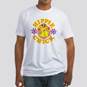 Hippie Chick Fitted T-Shirt