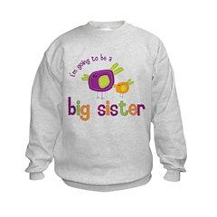 big sister t-shirts birdie Sweatshirt