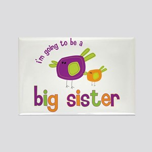big sister t-shirts birdie Rectangle Magnet
