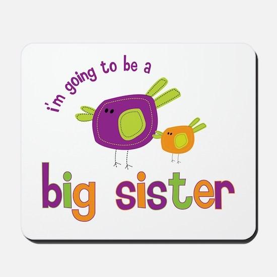big sister t-shirts birdie Mousepad