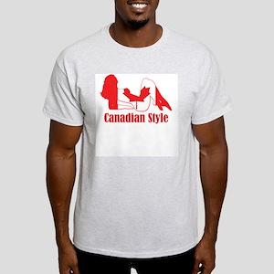 Canadian Style 1 Light T-Shirt