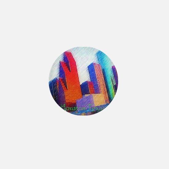 HOUSTON, TEXAS - ART Mini Button