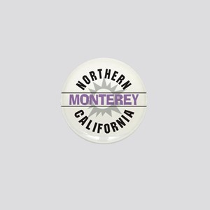 Monterey California Mini Button