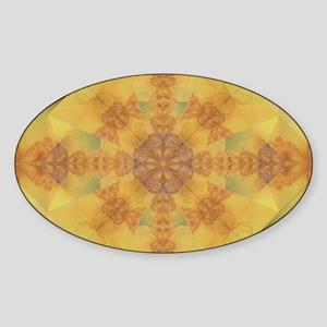 Autumn Dreams Oval Sticker