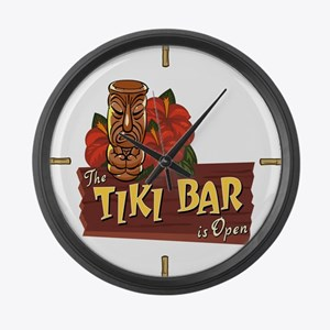 Tiki Bar is Open II - Giant Clock