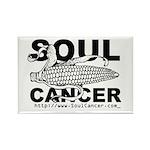 Soul Cancer Rectangle Magnet