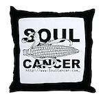 Soul Cancer Throw Pillow