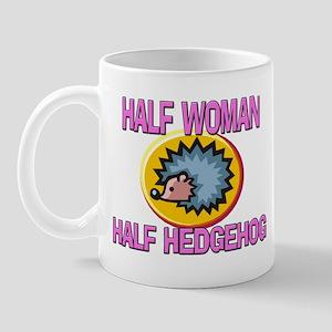 Half Woman Half Hedgehog Mug
