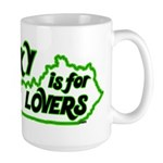 KY is for Lovers Large Mug