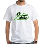 KY is for Lovers White T-Shirt