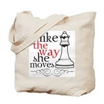 I Like The Way She Moves Tote Bag