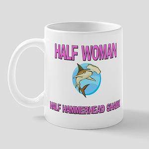 Half Woman Half Hammerhead Shark Mug