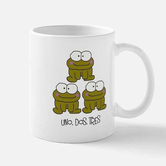 Uno, Dos, Tres RIBBITS! Mug